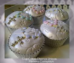 first communion cupcakes my style mis trabajos my work