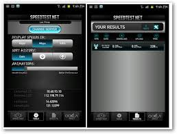 mobile speed test android check mobile connection speed with speedtest net app