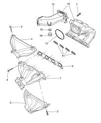 intake u0026 exhaust manifold for 2007 chrysler pt cruiser