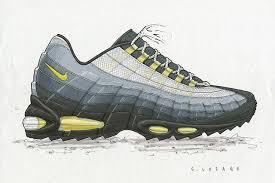 sergio lozano on the anatomy of the air max 95 sneaker freaker