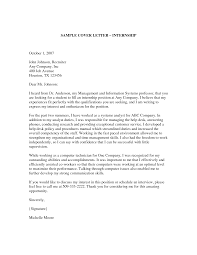 cover letter for film internship film internship cover letter