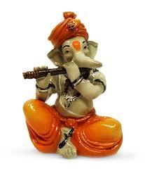 Earth Home Decor by Earth Home Decor Ganesha Playing Flute Buy Earth Home Decor