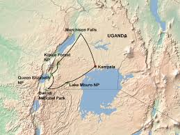 Map Of Uganda Highlights Of Uganda 10 Days Jenman African Safaris
