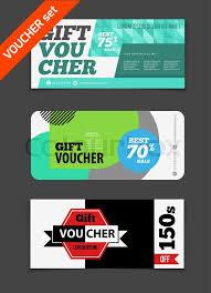 green gift voucher vector illustration gift voucher vector set sale voucher vector illustration store