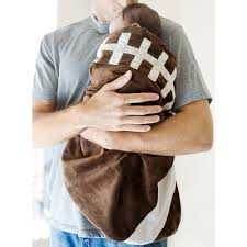 Sport Crib Bedding Football Bunting Cap Set Shop Cozy Cocoon Baby Buntings At