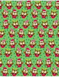 owl christmas wrapping paper 24 best owl wrapping paper images on wrapping papers