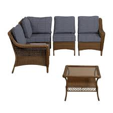 Ideas For Outdoor Loveseat Cushions Design Create U0026 Customize Your Patio Furniture Spring Haven Brown