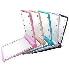 Makeup Mirror Light Online Get Cheap Mini Makeup Mirror With Light Aliexpress Com
