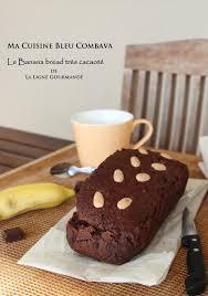 cuisine sans sucre banana bread très cacao sans sucre ni beurre de rabia ma