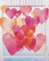 Martha Stewart Craft Paper - crayon hearts martha stewart