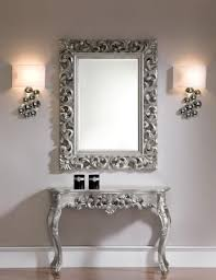 Decorative Wall Mirror Sets Hall Console Table And Mirror Set 2 Outstanding For Unique Hall
