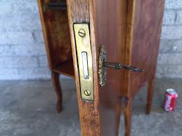 liquor cabinet with lock and key stunning vintage liquor bar cabinet with lock and skeleton key with