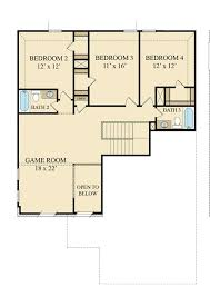 Game Room Floor Plans Terrazzo New Home Plan In Tavola Brookstone Collection By Lennar