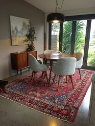 Modern Rugs Ltd by Warm Up Polished Concrete Floors With Beautiful Antique Persian