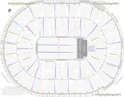 sap center seat u0026 row numbers detailed seating chart san jose