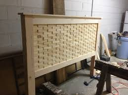 Do It Yourself Home Projects by How To Build Rustic Wood Head Board Robeson Design Diy Decor
