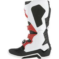 alpinestars tech 7 motocross boots alpinestars men u0027s tech 7 boots orange black white solomotoparts com