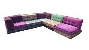 roche bobois canapé mah jong modular sofa by hopfer hans for roche bobois 1988 for