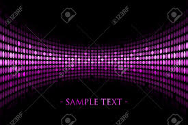 vector black background with purple lights with space for your