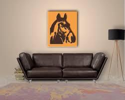 Wohnzimmer Afrika Style Wanddeko Pferd Ihr Pferdekopf Für Das Wohnzimmer