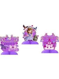 sofia the first table sophia the first decorations