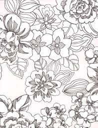 tropical flower coloring pages getcoloringpages com