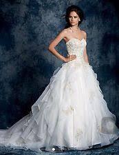 Alfred Angelo Wedding Dress Organza Wedding Dresses Alfred Angelo Ebay