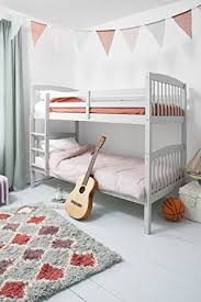 White Wooden Bunk Bed Bunk Bed Wooden Single White Pine Can Be Split Into 2 Singles