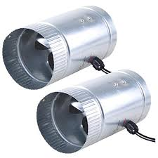 duct booster fan 2x 4 inline duct booster fan exhaust blower for home grow