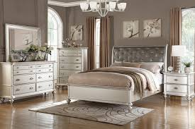 Tufted Bed Queen 5 Pc Patricia Iii