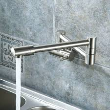 kohler brushed nickel kitchen faucet kitchen faucets geyser brushed nickel articulating kitchen