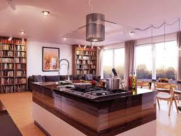 metal island kitchen kitchen cool island kitchen with ceiling range