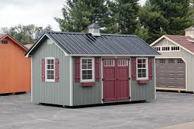 Photo Gallery Of The Lancaster Style Shed From Overholt In - Backyard sheds designs