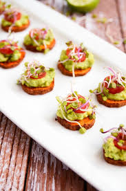 simple vegetarian canapes potato avocado bites recipe vegan gluten free gluten