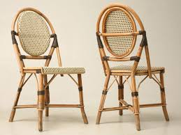 Wicker Bistro Chairs Poitoux Bistro Chairs Rattan Modern House Design Unique