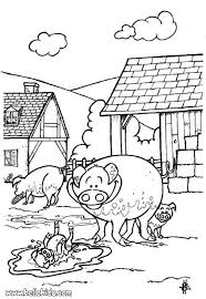 pig coloring pages hellokids