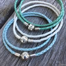 bracelet leather pandora images Pandora ivory white leather bracelet marthnickbeads jpg