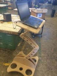 Cool Woodworking Project Ideas by Wryland U0027s Adjustable Computer Work Station Woodworking Shop