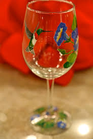 sweet southern days hand painted wine glasses
