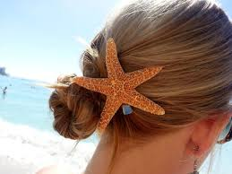 starfish hair clip sugar starfish hair clip by shandahawaiiandesign on etsy