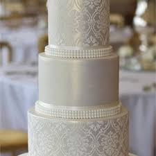 silver wedding cakes 480 480 thumb 1531783 cakes jeannettes 20160809015928830 jpg