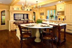 bathroom excellent kitchen island attached table ideas