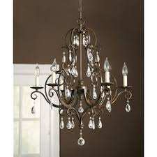 Chandeliers For Dining Rooms by Paige Crystal Chandelier Bronze Finish Chandeliers Crystals