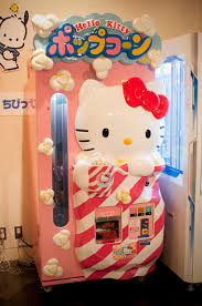 kitty popcorn machine