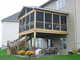 decor screened deck plans screened in porch designs