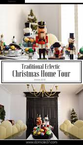 whimsical winter eclectic christmas home tour holidays diy
