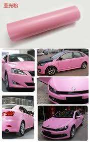 matte pink car pvc vinyl for car