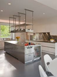 Hanging Shelves From Ceiling by Restaurant Kitchen Shelving Google Search Work Pinterest