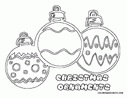 ornaments coloring pages coloring pages of