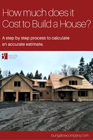 Calculating House Square Footage What Is The Cost To Build A House A Step By Step Guide